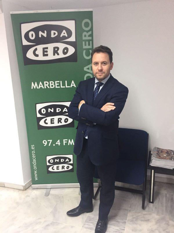 Jesús R. Ballesteros en Onda Cero Marbella