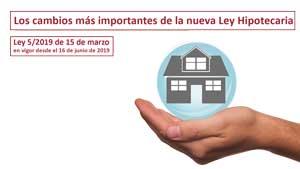 Los cambios más importantes de la nueva Ley Hipotecaria