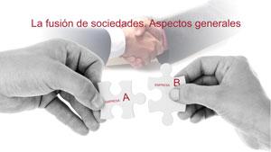 La fusión de sociedades. Aspectos generales