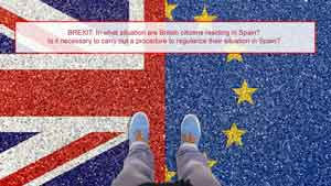 BREXIT: In what situation are British citizens residing in Spain?
