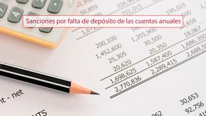 Sanciones por falta de depósito de las cuentas anuales