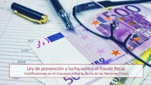 Закон о предотвращении налогового мошенничества и борьбе с ним: изменения в НДФЛ